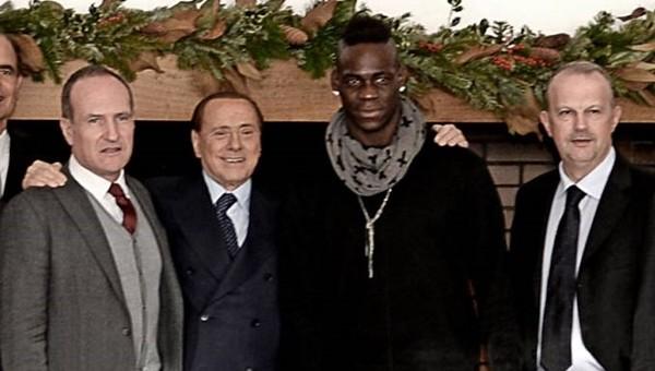 Milan Başkanı Berlusconi'den Balotelli gafı