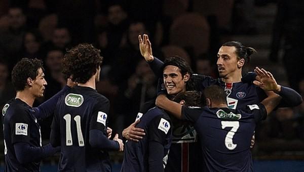 Paris Saint-Germain çeyrek finalde!
