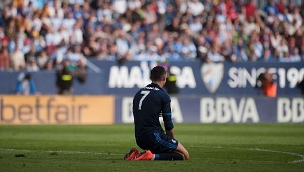Real Madrid'e Malaga şoku!