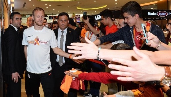 Semih Kaya, Gaziantep'te taraftarlarla buluştu - Galatasaray Haberleri