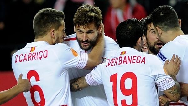 Sevilla Molde'yi rahat geçti