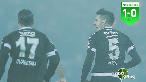 Sisli gecede gülen Beşiktaş