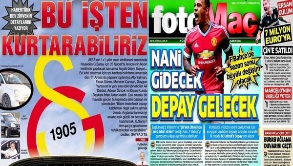 Spor gazetelerinde günün manşetleri (4 Şubat 2016)