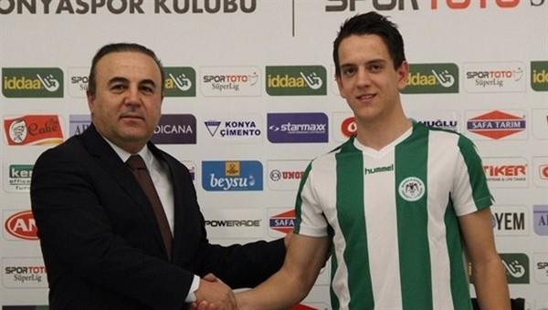Torku Konyaspor'a son nefeste Boşnak oyuncu