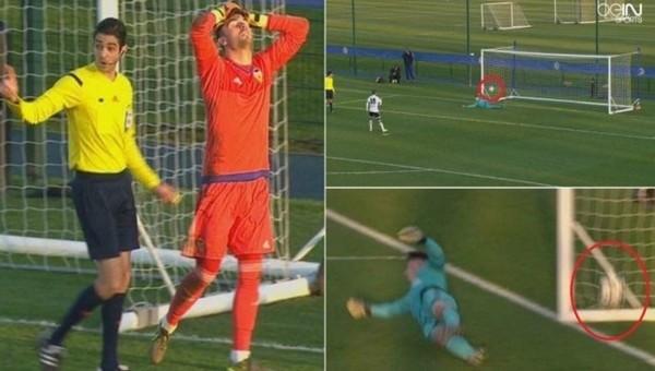 UEFA Gençler Ligi'nde hakem skandalı