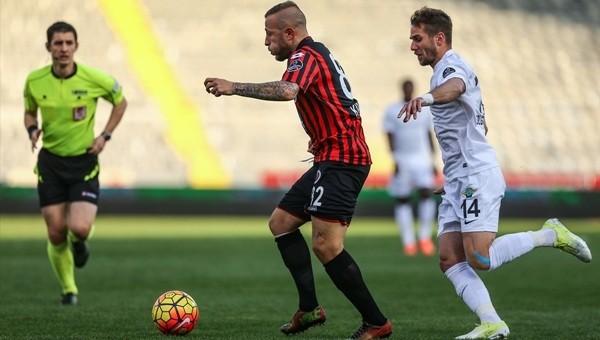 Gençlerbirliği - Akhisar Belediyespor maçı özeti ve golleri