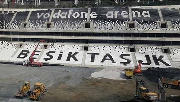 Vodafone Arena'nın havadan görüntüleri - İZLE