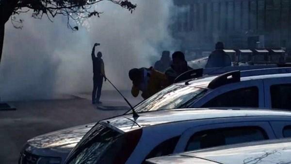 Ankaragücü-Sivas Belediyespor maçından sonra olay çıktı