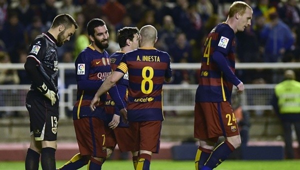 Arda Turan golünü attı, Barcelona farka koştu