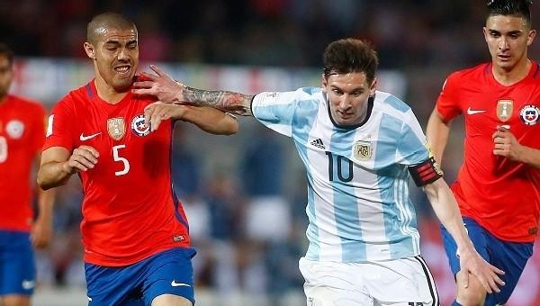 Arjantin, Şili'yi eli boş gönderdi