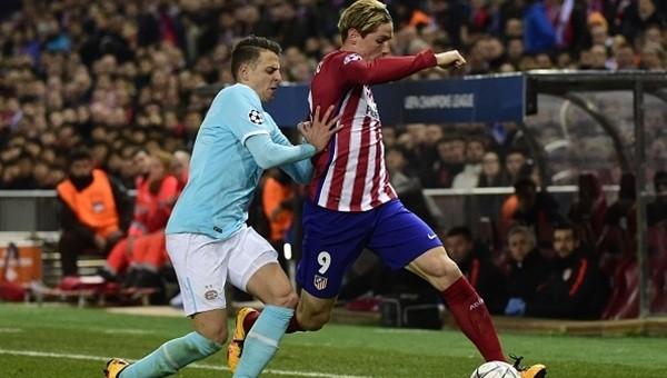 Atletico Madrid penaltılarla çeyrek finalde!