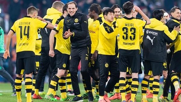 Borussia Dortmund takibini sürdürüyor