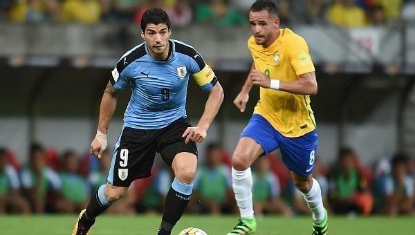 Brezilya, Uruguay'ı deviremedi - Dünyadan Futbol