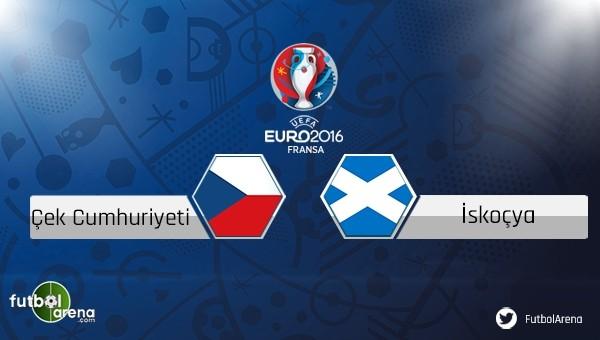 Çek Cumhuriyeti - İskoçya maçı saat kaçta, hangi kanalda?