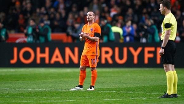 Galatasaray'a Wesley Sneijder şoku