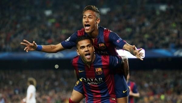 Daniel Alves, Neymar'a sahip çıktı!