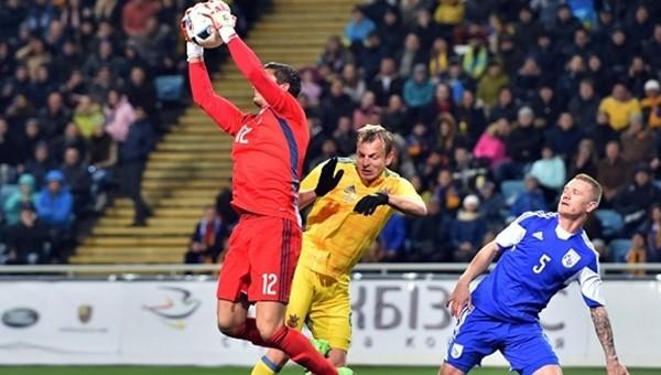 Denys Boyko kalesini kapattı, Ukrayna kazandı