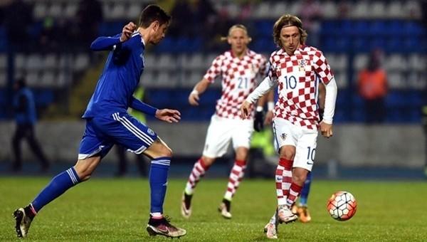 Euro 2016'daki rakibimiz Hırvatistan, İsrail'i rahat geçti