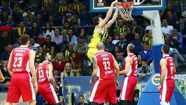 Fenerbahçe - Kızılyıldız maçı özeti