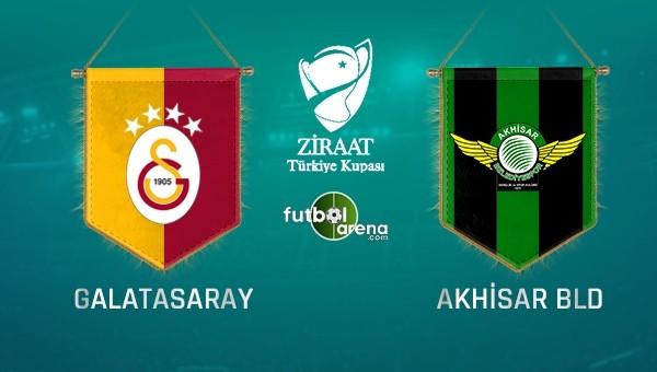 Galatasaray - Akhisar Belediyespor maçı saat kaçta, hangi kanalda?