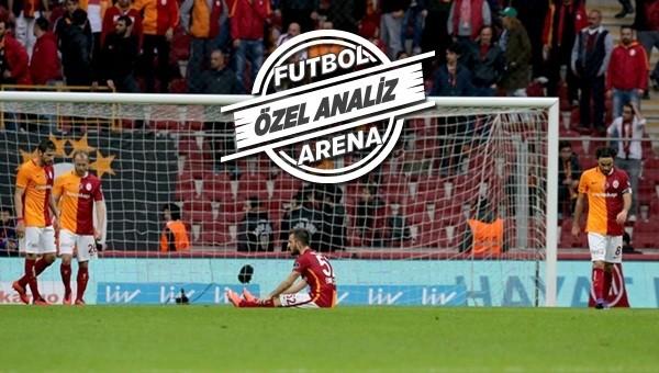 Galatasaray yerde kaldı!