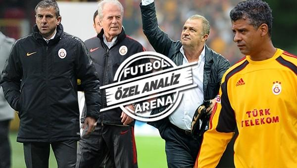 Galatasaray'da teknik direktör kıyımı