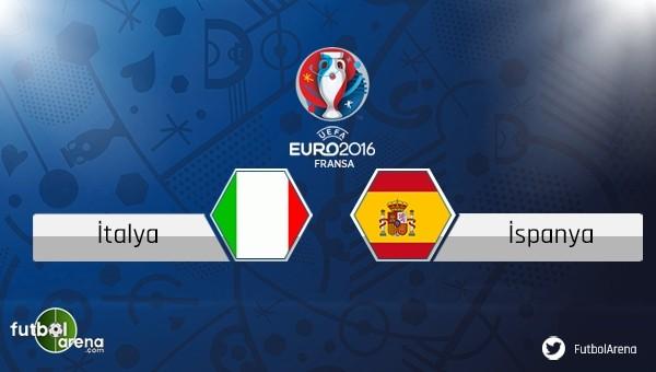 İtalya - İspanya maçı saat kaçta, hangi kanalda?