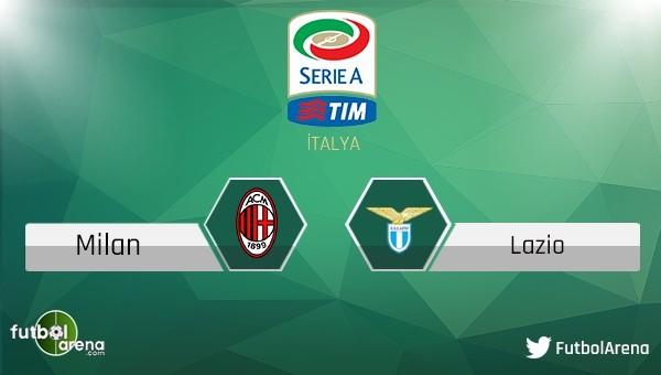 Milan - Lazio maçı saat, kaçta hangi kanalda?
