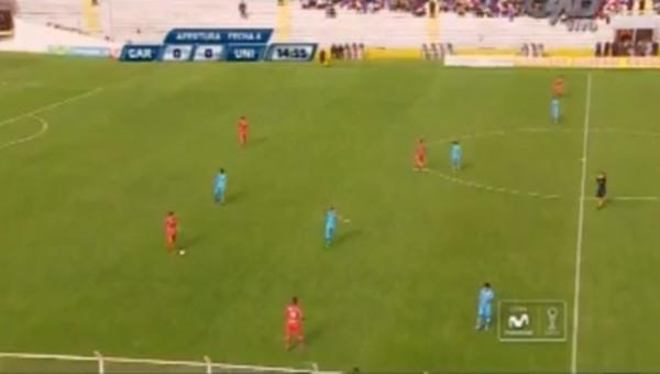 Peru'da maç sırasında bomba patladı!