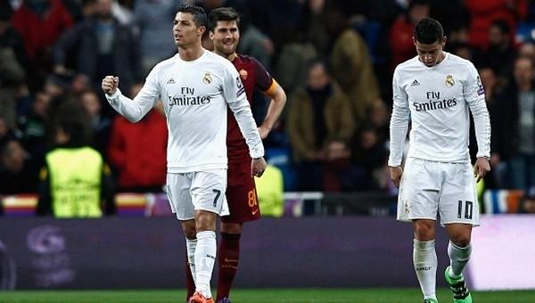 Real Madrid - Roma maçı özeti ve golleri