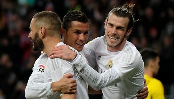 Real Madrid, Sevilla'yı farklı geçti