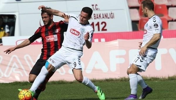 Torku Konyaspor'dan altın galibiyet