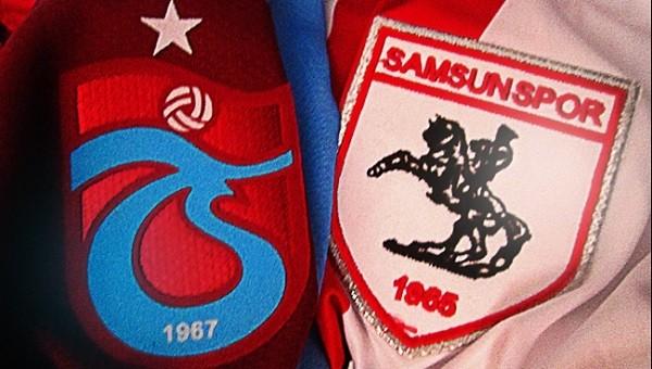 Trabzonspor - Samsunspor hazırlık maçında tarihi görüntü