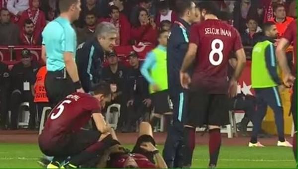 Türkiye-İsveç maçında Hakan Balta şoku!