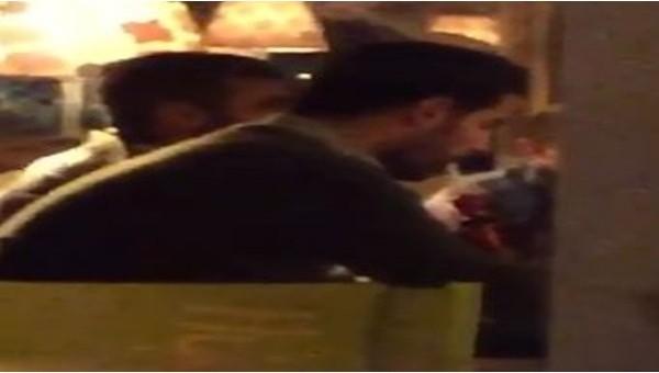 Volkan Demirel galibiyeti nargile içerek kutladı - İZLE