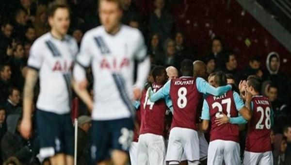 West Ham United, Tottenham'ı devirdi