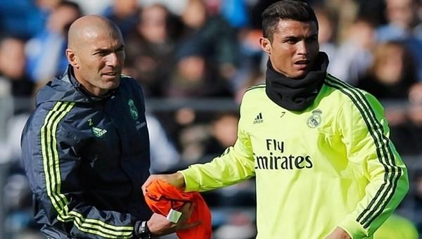 Zinedine Zidane açıkladı! Cristiano Ronaldo, takımdan ayrılıyor mu?