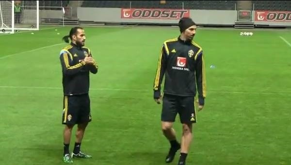 Zlatan Ibrahimovic, Erkan Zengin'i fena ezdi - İZLE