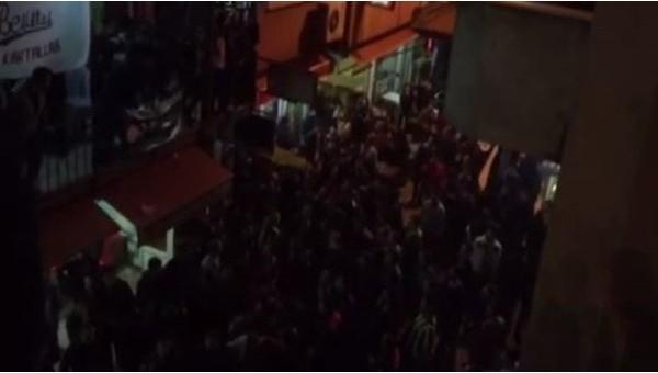Zonguldak'ta Fenerbahçe - Beşiktaş derbi sırasında büyük olaylar - İZLE