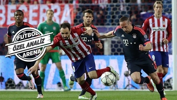 Atletico Madrid avantajı kaptı
