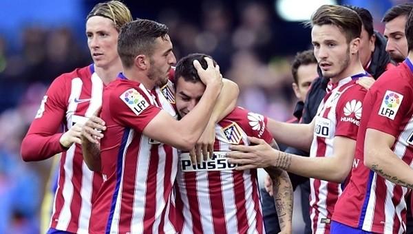 Atletico Madrid tek golle kazanmayı sürdürüyor