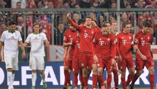Bayern Münih, Almanya DFB Kupası'nda finale yükseldi