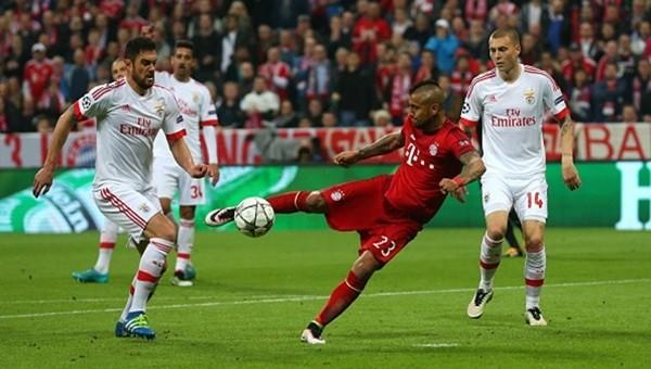 Bayern Münih, Benfica'yı tek golle geçti