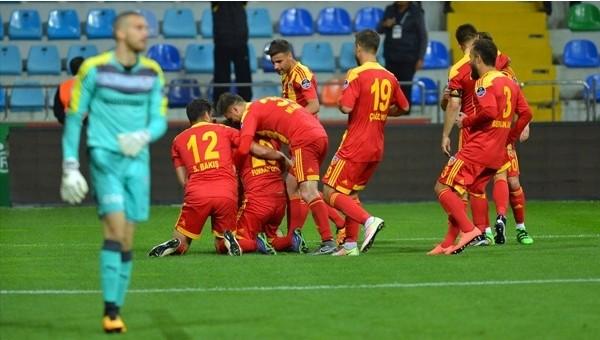 Bursaspor'a bir darbe de Kayserispor'dan