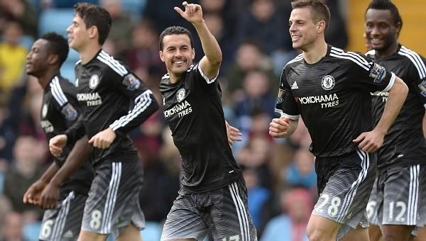 Chelsea'den Aston Villa'ya son darbe