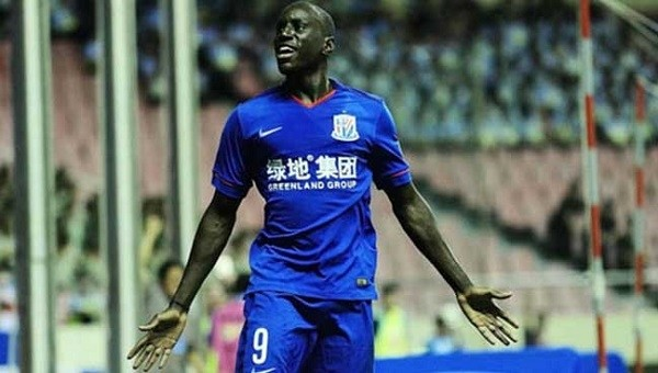 Çin'de Demba Ba'dan muhteşem gol - İZLE