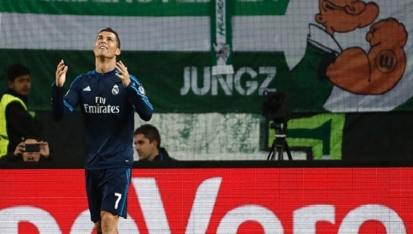 Cristiano Ronaldo'nun Wolfsburg maçı sonrası tepkisi