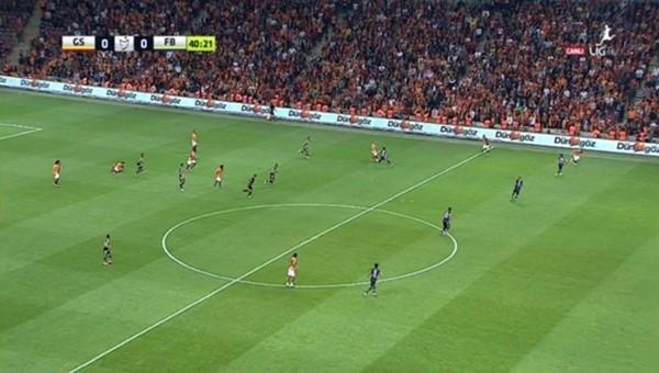 Derbide Galatasaray'ı çıldırtan ofsayt kararı