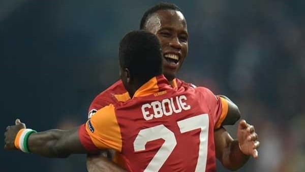 Drogba'dan Eboue'ye yardım eli
