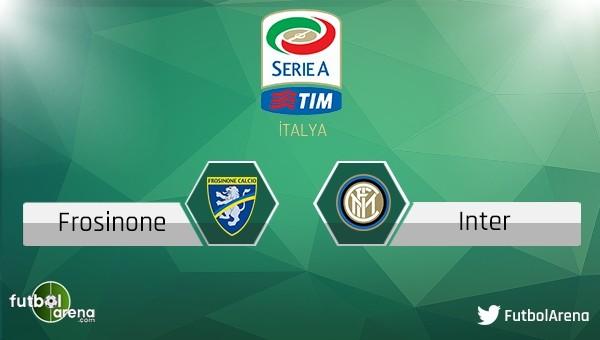 Frosinone - Inter maçı saat kaçta, hangi kanalda?